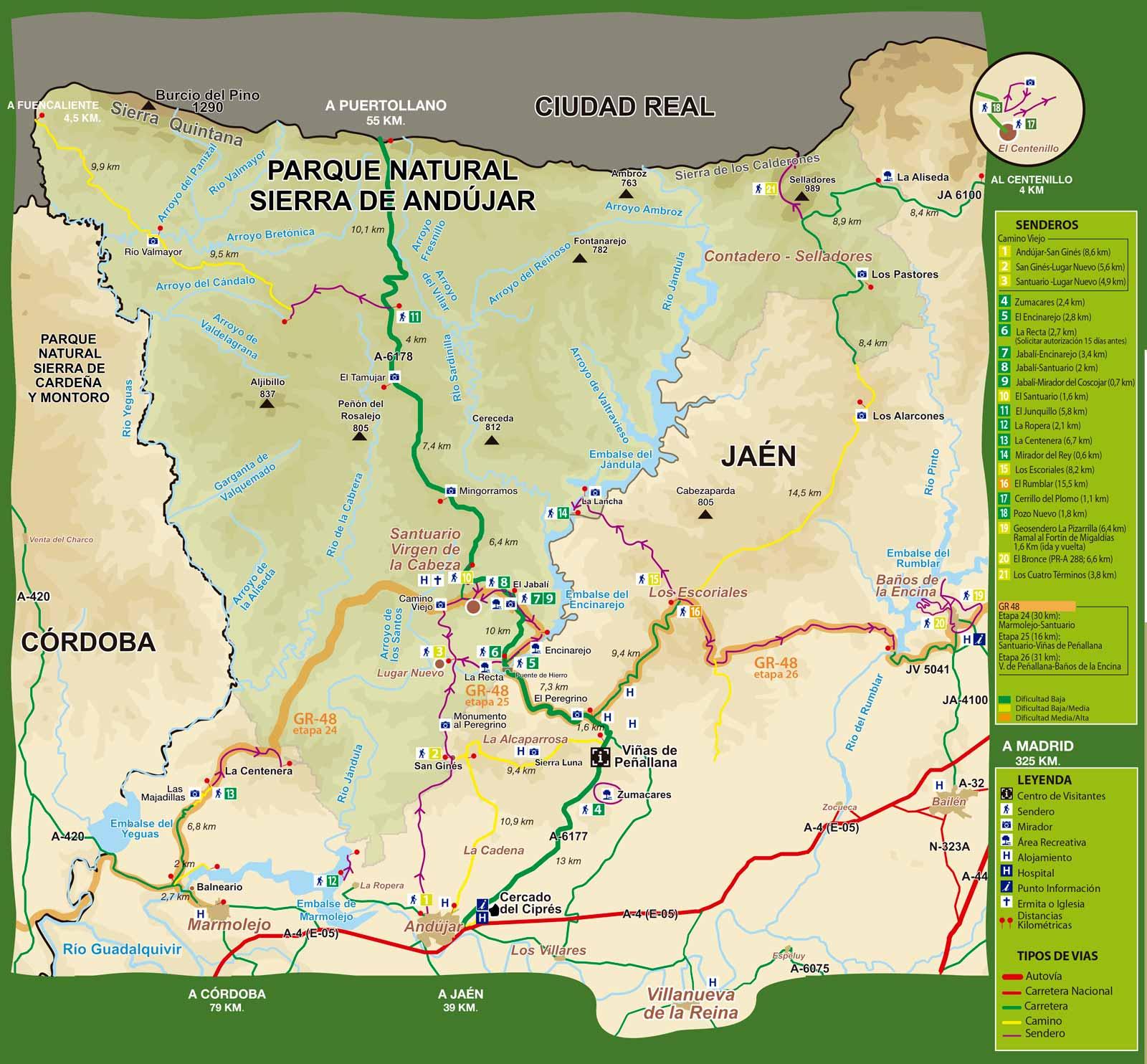 Plano-rutas-Sierra-de-Andujar