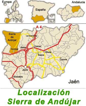 Donde esta Sierra de Andújar