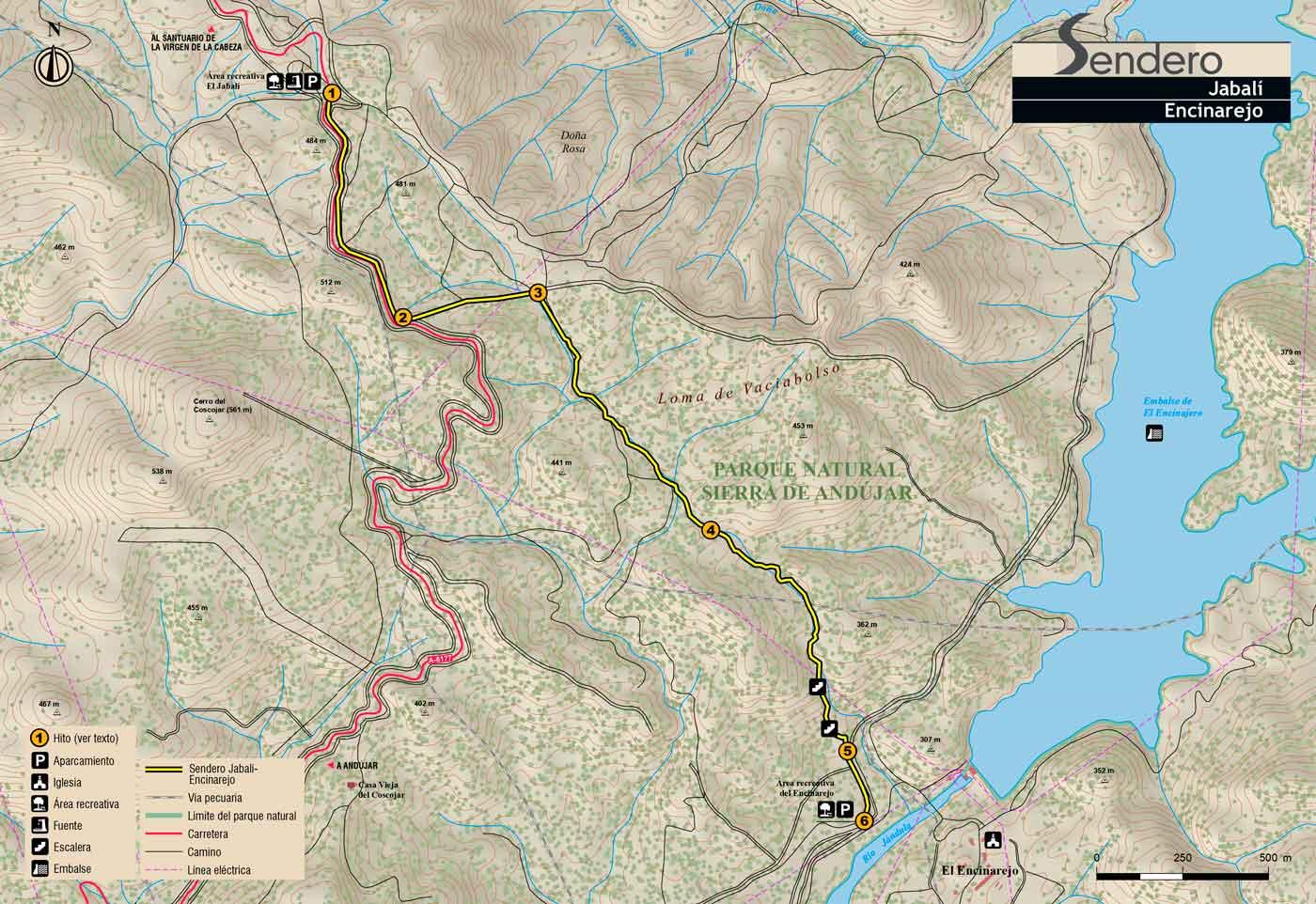 ruta-sierra-de-ANDUJAR-Jabali_Encinarejo