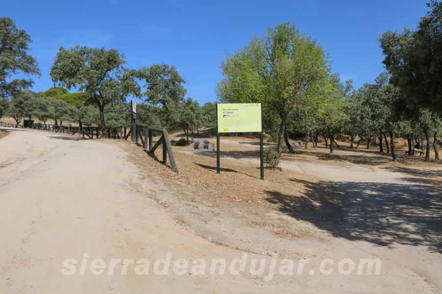 Señal zona turistas sierra-de-andujar-40