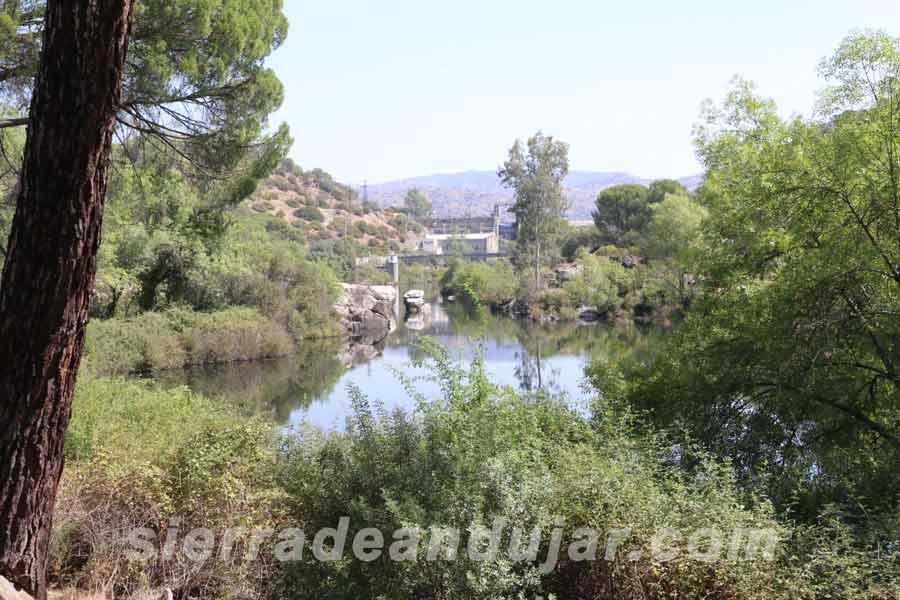 sierra-de-andujar embalse Encinarejo ruta encinarejo