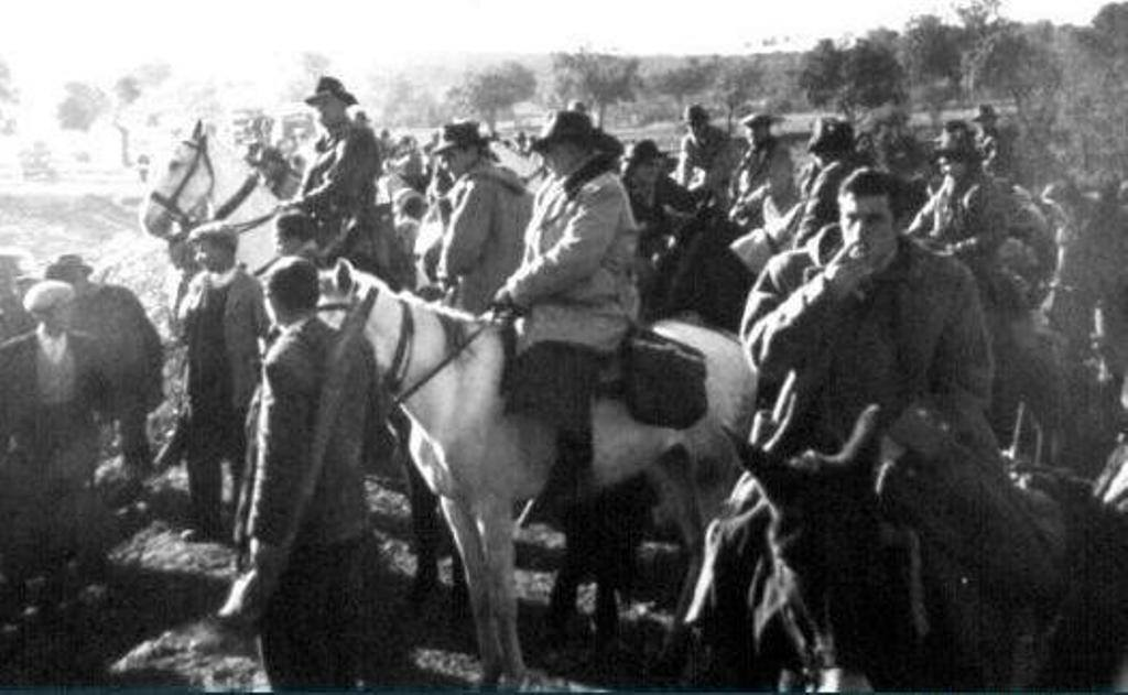 Montería en la Sierra de Andújar fotos antiguas