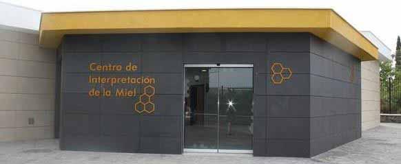 Entrada centro interpretación de la miel