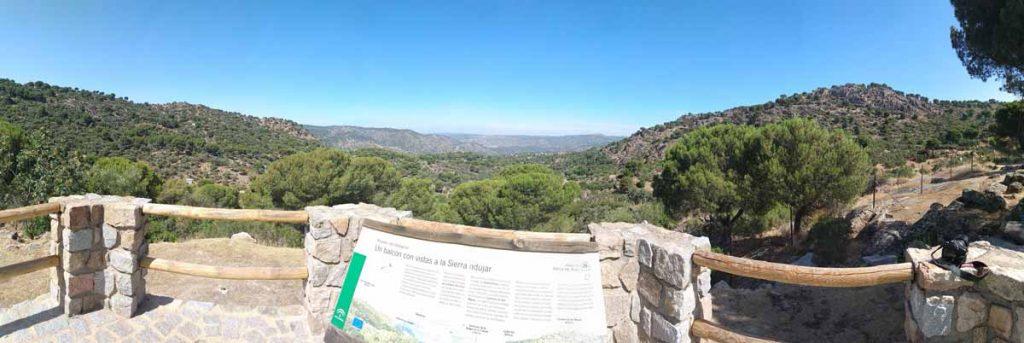 Mirador del Peregrino- carretera Sierra de Andújar