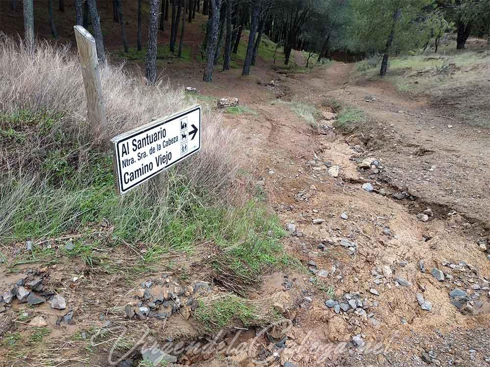 Ruta parque natural Sierra Andujar