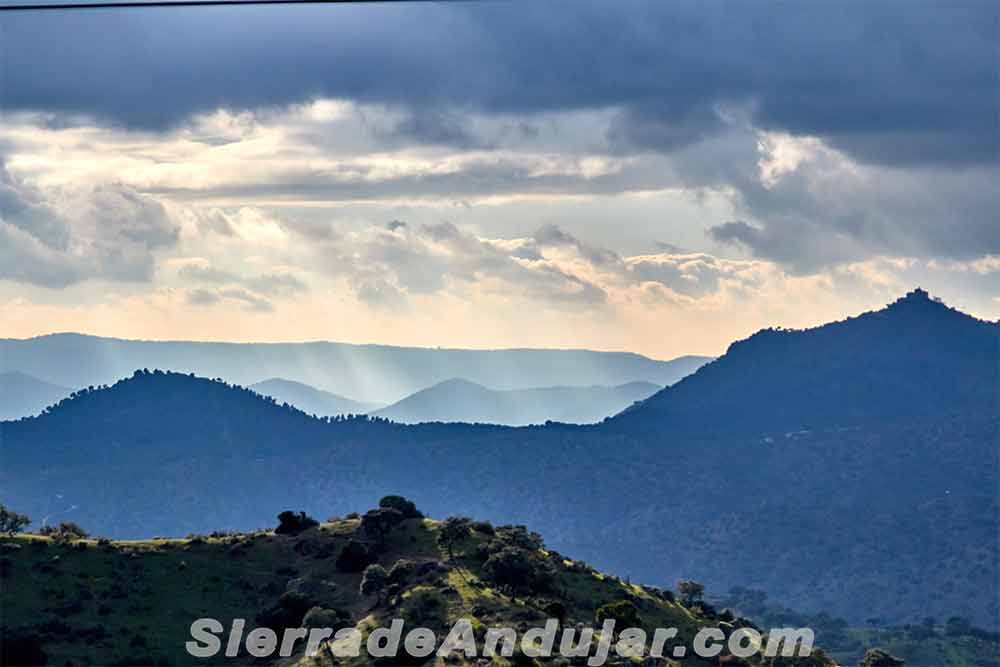 Santuario Virgen Cabeza en sierra de andújar