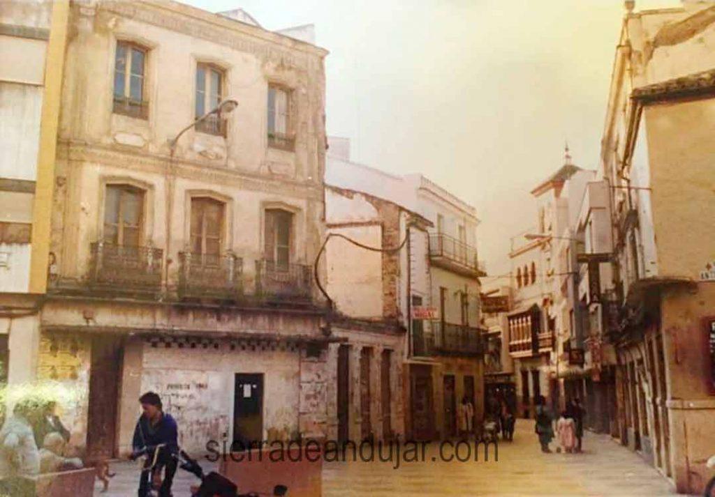 Calle San Francisco en Andújar-foto antigua