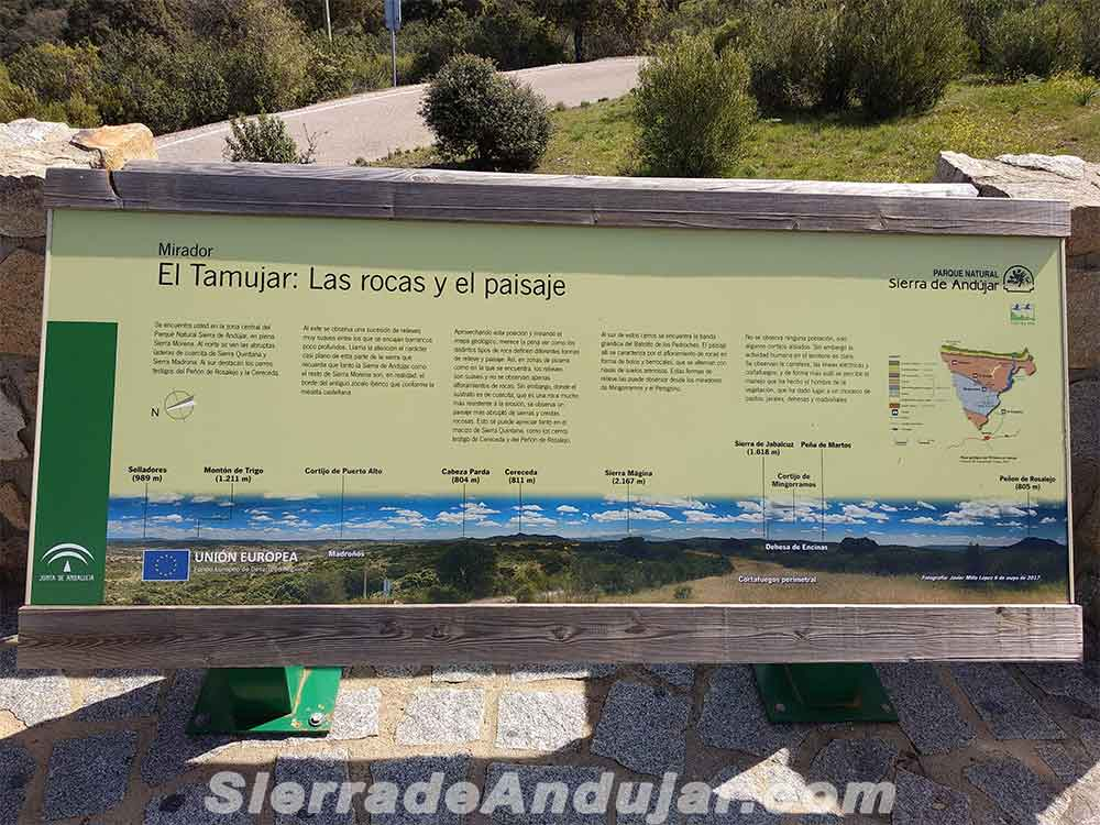 Mirador Sierra de Andújar Tamujar
