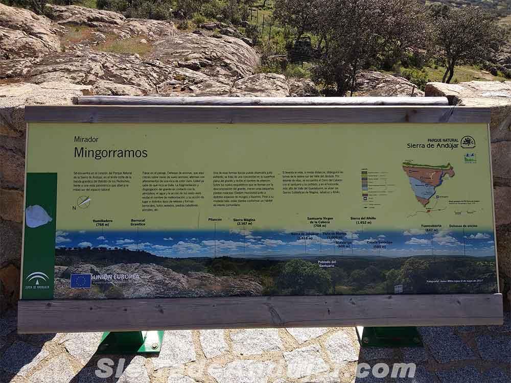 Mirador Sierra de Andújar Mingorramos